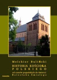 Historia Kościoła polskiego od czasów pogańskich do śmierci Bolesława Śmiałego - okładka książki
