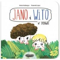 Jano i Wito W trawie - Wiola Wołoszyn - okładka książki