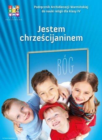 Jestem Chrześcijaninem 4. Szkoła - okładka podręcznika