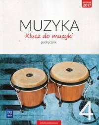 Klucz do muzyki 4. Szkoła podstawowa. Podręcznik - okładka podręcznika