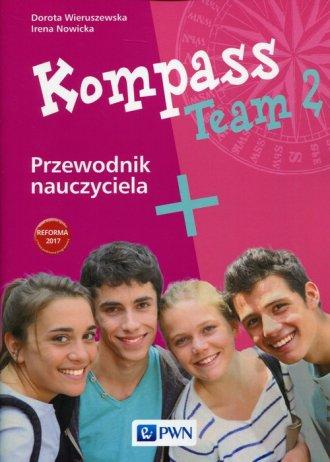 Kompass Team 2. Przewodnik nauczyciela - okładka podręcznika