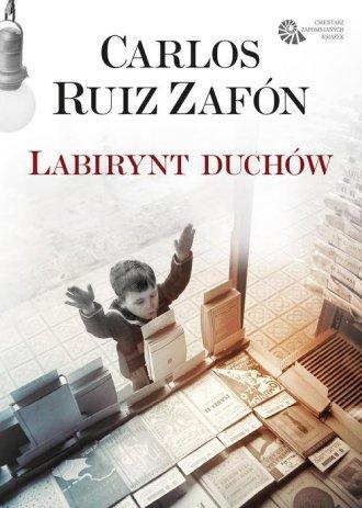 Labirynt duchów - okładka książki