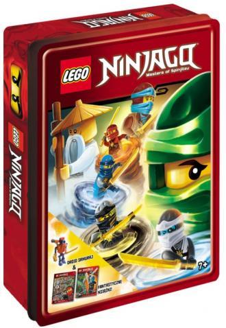 LEGO Ninjago Zestaw książek z klockami - okładka książki