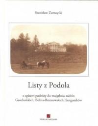 Listy z Podola - okładka książki