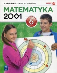 Matematyka 2001 6. Szkoła podstawowa. Podręcznik - okładka podręcznika