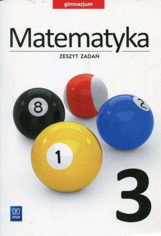 Matematyka 3. Gimnazjum. Zeszyt - okładka podręcznika