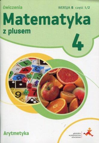 Matematyka z plusem 4. Ćwiczenia. - okładka podręcznika