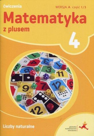 Matematyka z plusem 4. Szkoła podstawowa. - okładka podręcznika