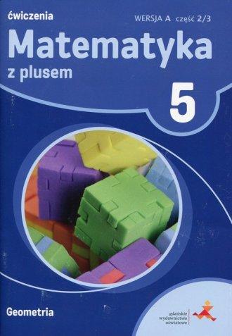 Matematyka z plusem 5. Szkoła podstawowa. - okładka podręcznika