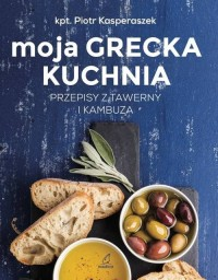Moja Grecka Kuchnia - okładka książki