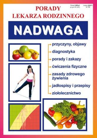 Nadwaga. Porady Lekarza Rodzinnego - okładka książki