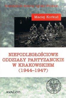 Niepodległościowe oddziały partyzanckie - okładka książki