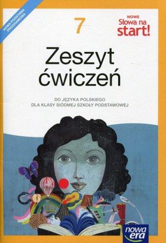 Nowe Słowa na start 7. Szkoła podstawowa. - okładka podręcznika