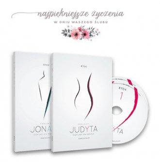 Pakiet ślubny Judyta i Jonasz - okładka płyty