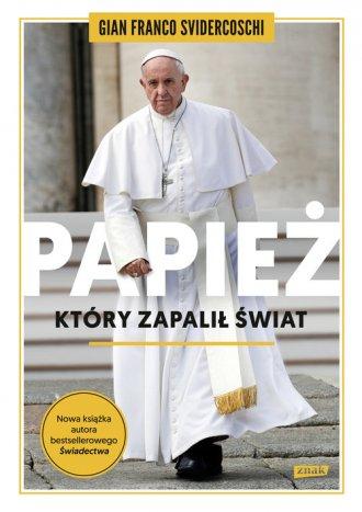 Papież, który zapalił świat - okładka książki