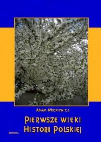 Pierwsze wieki historii polskiej - okładka książki