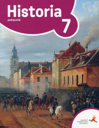 Podróże w czasie. Historia 7. Szkoła - okładka podręcznika