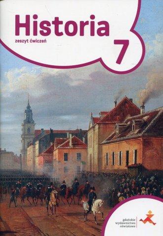 Podróże w czasie Historia 7. Szkoła - okładka podręcznika