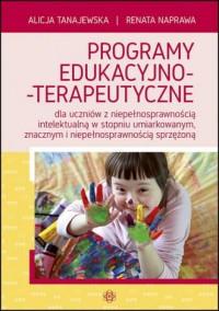 Programy edukacyjno-terapeutyczne - okładka książki