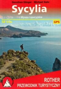 Przewodnik turystyczny. Sycylia i Wyspy Liparyjskie - okładka książki