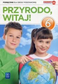 Przyrodo witaj 6. Szkoła podstawowa. - okładka podręcznika