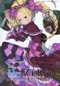 Re  Zero Życie w innym świecie - okładka książki