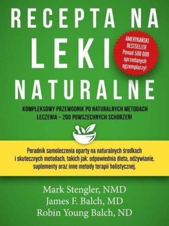 Recepta na leki naturalne - okładka książki