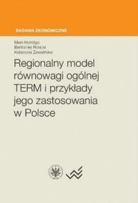 Regionalny model równowagi ogólnej - okładka książki