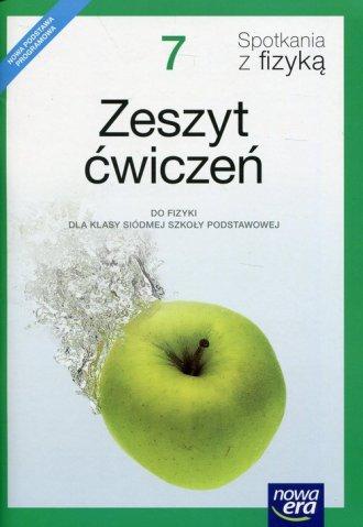 Spotkania z fizyką 7. Szkoła podstawowa. - okładka podręcznika