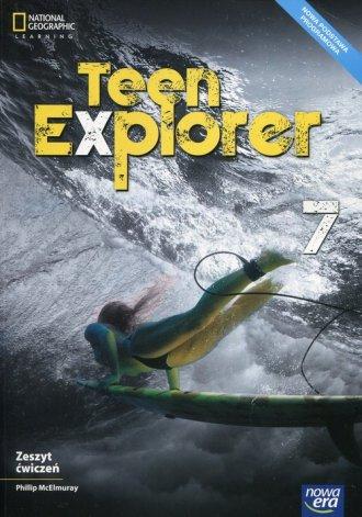 Teen Explorer. Szkoła podstawowa. - okładka podręcznika