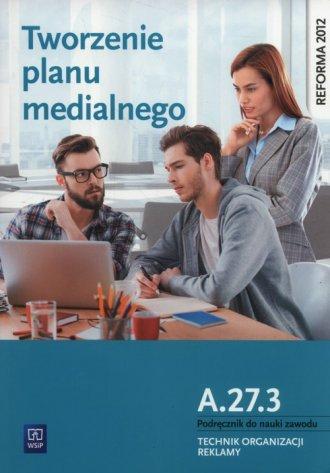 Tworzenie planu medialnego A.27.3. - okładka podręcznika