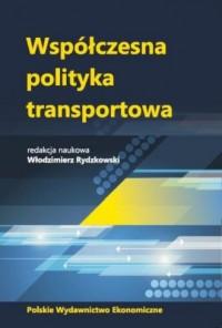 Współczesna polityka transportowa - okładka książki