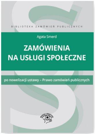 Zamówienia na usługi społeczne. - okładka książki
