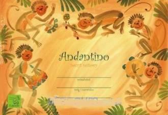 Zeszyt nutowy - Andantino - zdjęcie produktu