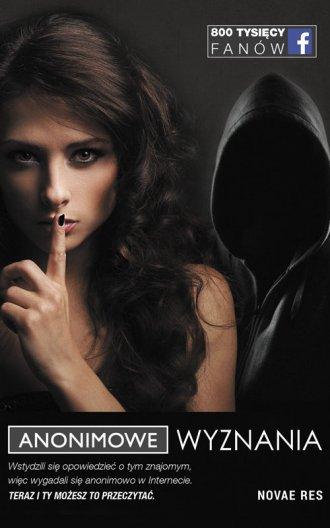 Anonimowe Wyznania - okładka książki