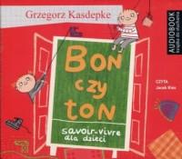 Bon czy ton - Grzegorz Kasdepke - pudełko audiobooku