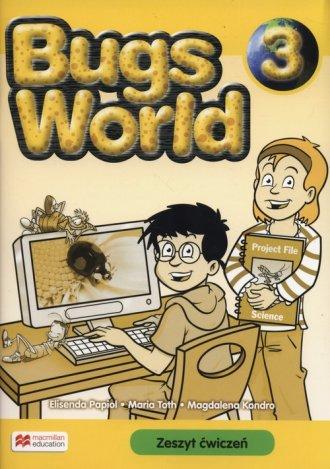 Bugs World 3. Zeszyt ćwiczeń - okładka podręcznika