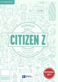 Citizen Z 7. Szkoła podstawowa. - okładka podręcznika