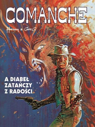 Comanche 9. A diabeł zatańczy z - okładka książki