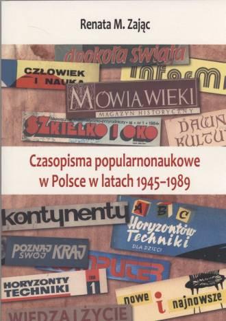 Czasopisma popularnonaukowe w Polsce - okładka książki