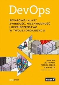 DevOps Światowej klasy zwinność - okładka książki