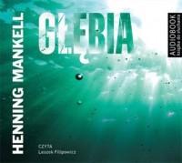 Głębia - Henning Mankell - pudełko audiobooku