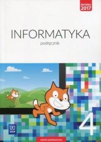 Informatyka 4. Szkoła podstawowa. Podręcznik - okładka podręcznika