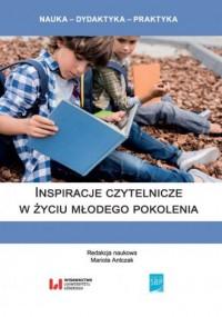 Inspiracje czytelnicze w życiu młodego pokolenia - okładka książki