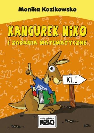 Kangurek NIKO i zadania matematyczne - okładka podręcznika