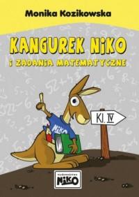 Kangurek NIKO i zadania matematyczne dla klasy 4 - okładka podręcznika