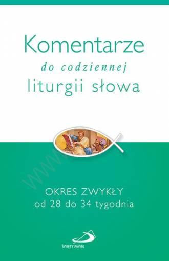 Komentarze do codziennej liturgii - okładka książki