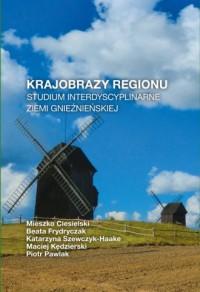 Krajobrazy regionu. Studium interdyscyplinarne ziemi gnieźnieńskiej - okładka książki