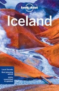 Lonely Planet Iceland - okładka książki