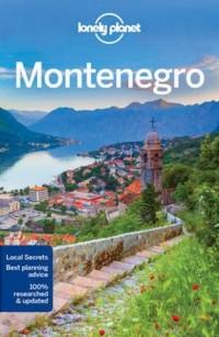 Lonely Planet Montenegro - okładka książki